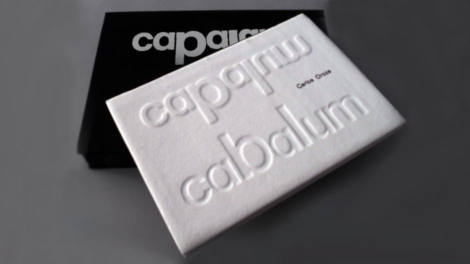 Cabalum carlos oroza bookbinding encuadernacion